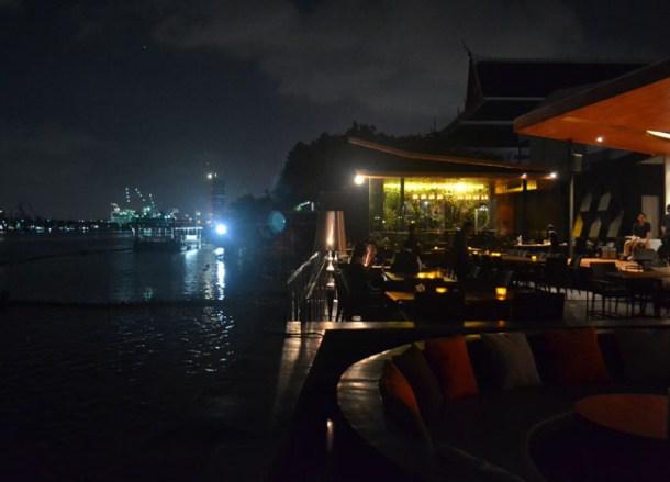 Bangkok River Views, Buri Tara Riverside Restaurant, Southeast Asia