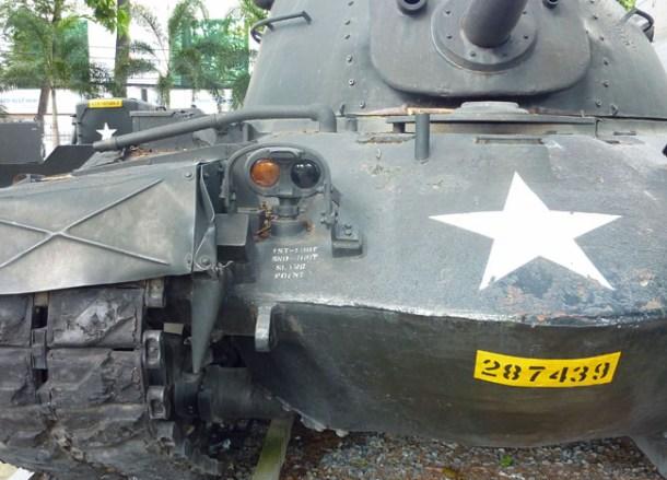 Tank. War Remnants Museum, Ho Chi Minh City Centre, Vietnam
