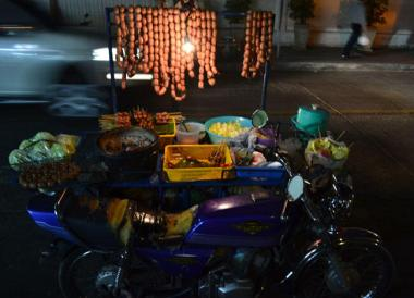 Isan Sausage Motorbike, Top 10 Isan Food, Northeastern Thailand