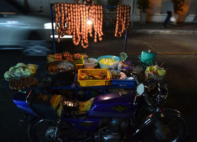 Isan Sausage Motorbike, Top 10 Isan Food, Northeastern Thailand