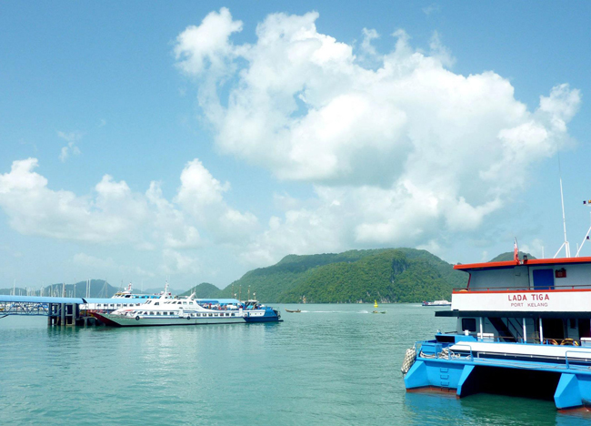 Kuah Pier Langkawi, Singapore to Bangkok by Land Island Hopping