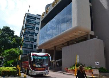 Golden Mile Complex Bus, Singapore to Bangkok Overland Island Hopping