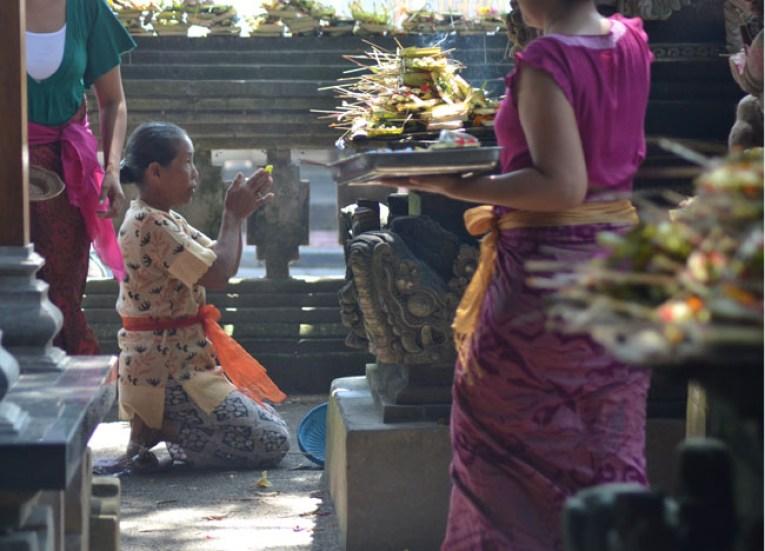 Hindu Shrine, Escape Tourism in Ubud Cultural Capital of Bali