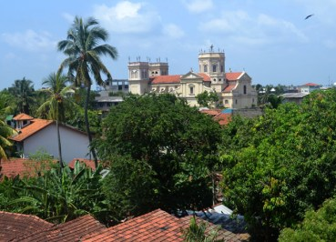 St. Mary's Church Negombo, Stopover in Colombo Sri Lanka Transit VISA