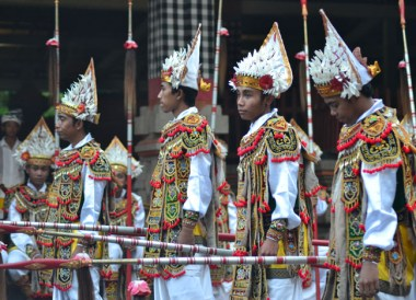Traditional Dress, Escape Tourism in Ubud Cultural Capital of Bali