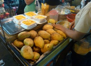 Mango Sticky Rice Dessert, Top 10 Isan Food, Northeastern Thailand