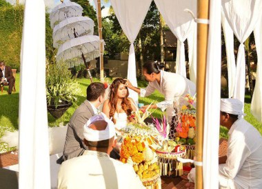 Balinese Wedding, Wedding at Alila Ubud, Married in Bali Indonesia