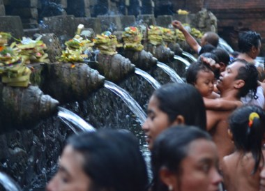 Holy Water Temple, Escape Tourism in Ubud Cultural Capital of Bali