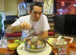 Eating Spicy Soup, Thai Hot Pots in Bangkok, Jim Jum, Joom Zap Hut