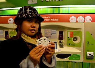 Metro tickets, Montparnasse Area of Paris, Montparnasse Station