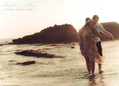 Rocky Beach, Pre-wedding Photo Shoot in Bali Photography Locations