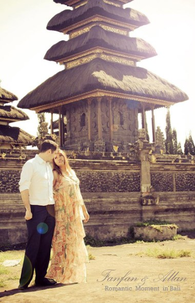 Behind Temple, Pre-wedding Photo Shoot in Bali Photography Locations