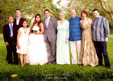 Family Photo, Simple Wedding in Bali Ubud, Travel Bloggers Wedding