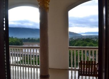 Mekong River Views, Champasak Palace Hotel Pakse Hotel Review Laos