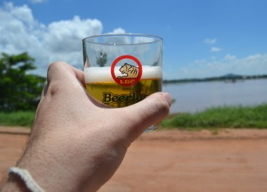 Beer Lao Mekong River, Things to do in Pakse City Southern Laos Asia