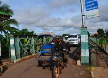 Korean Bridge at Wat Luang, Things to do in Pakse City Southern Laos