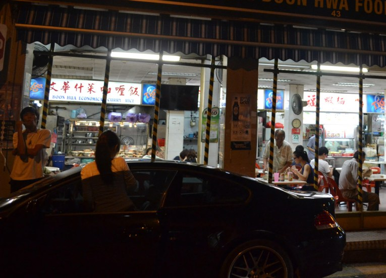 BMW at Singapore Hawker, Is Street Food Safe? Eating in Southeast Asia