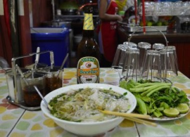 Lao Noodle Soup, Top 10 Lao Food, Eating in Laos, Southeast Asia