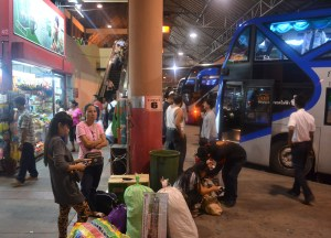 Mo Chit Station Buses, Thai Visa Run to Savannakhet Laos from Bangkok