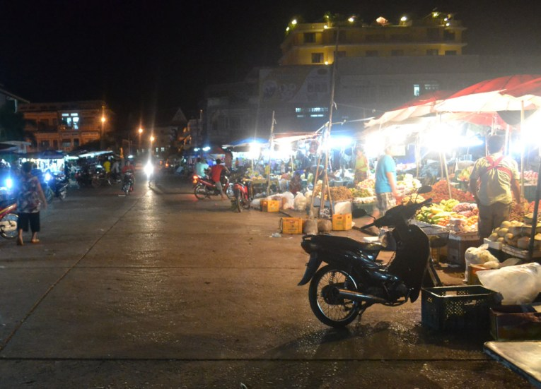 Night Market Pakse Centre, Things to do in Pakse City Southern Laos