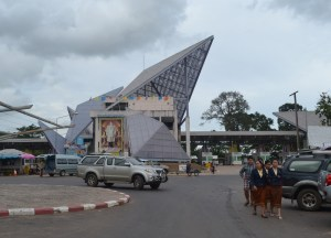 Arrival at Thailand Border, Pakse to Bangkok by Bus, Laos to Thailand