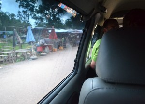 Backpacker Minibus, Pakse to Bangkok by Bus, Laos to Thailand, Asia