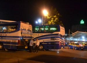 Stop Break at Korat, Pakse to Bangkok by Bus, Laos to Thailand, Asia
