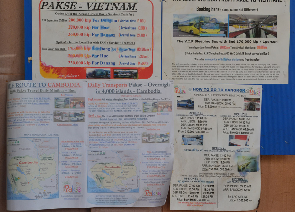 Pakse To Bangkok By Bus Travel Laos To Thailand