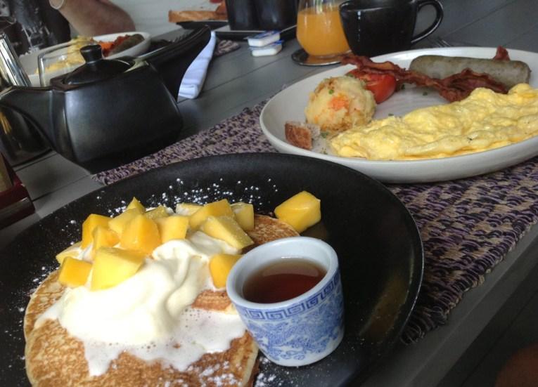 Sala Breakfast Eating at Sala Phuket Resort Review, Phuket Pool Villas