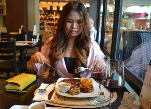 Ribeye Steak at K-Village, Wine Connection in Sukhumvit, Bangkok, Thailand