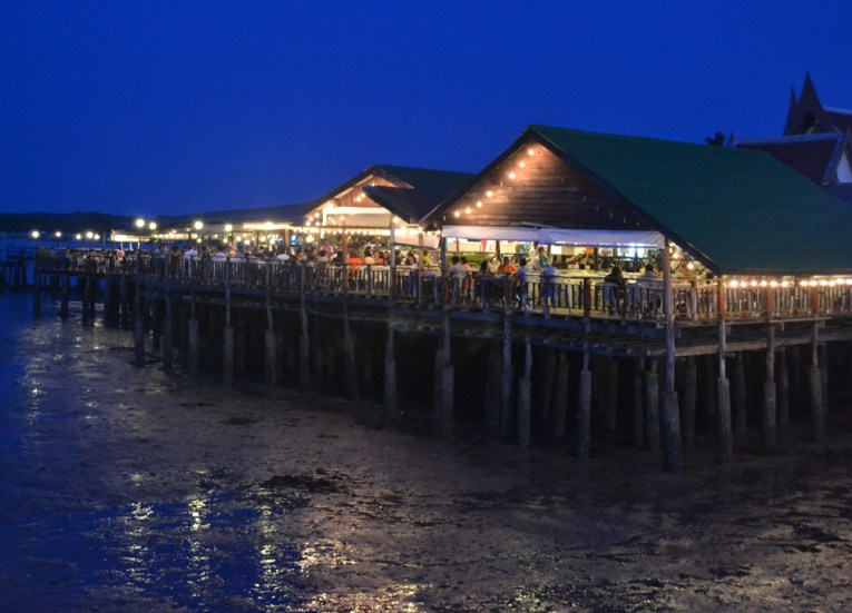 Thai Restaurant at Laem Hin Pier, Village Coconut Island Resort Phuket