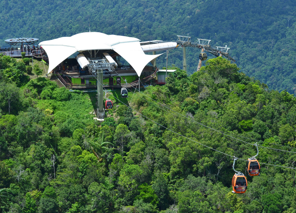 Langkawi Cable Car, Tourist Attractions in Southeast Asia to Avoid