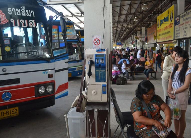 Korat Bus Station, Top Attractions in Korat, Nakhon Ratchasima Isaan, Thailand