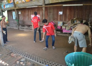 Serious Game of  Petanque in Laos, French Influences Southeast Asia
