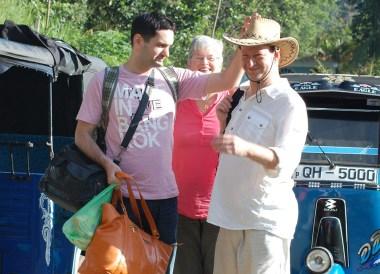 Hiring Tuk Tuk in Ella, South Sri Lanka Tour, Independent Travel Asia