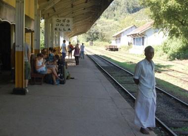 Ella Train Platform, South Sri Lanka Tour, Independent Travel Asia
