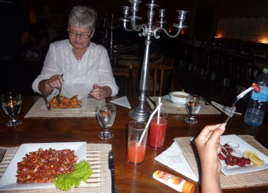 Kandy Whitehouse Restaurant, South Sri Lanka Tour, Independent Travel Asia