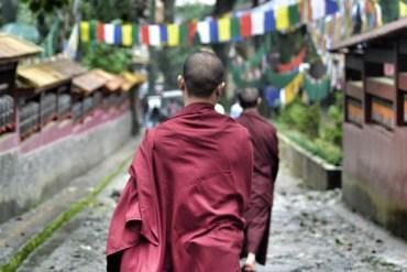 Tibetan Monks, Enchey Monastery Gangtok, Sikkim Tibetan Monasteries