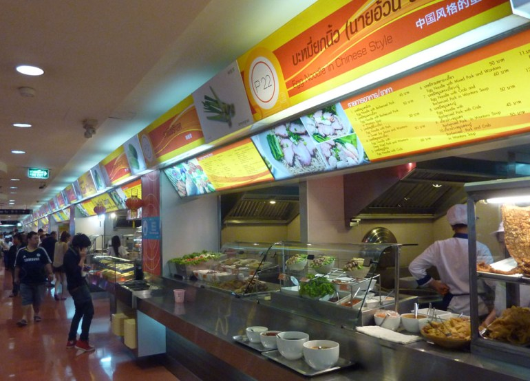 Food Courts, Top 5 Bangkok Malls, Best Shopping Centres in Bangkok