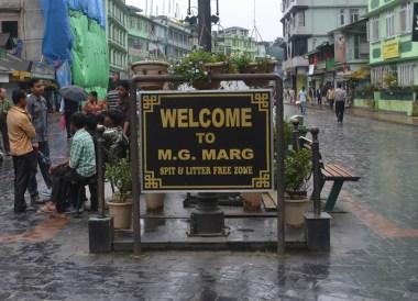 Gangtok to Changu Lake in Low Season, MG New Market