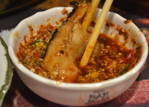 Chilli Dipping Sauce, Sukishi Korean Barbecue Bangkok, Japanese Food