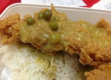 KFC Green Chicken Curry, 24 Hour Fast Food Delivery in Bangkok