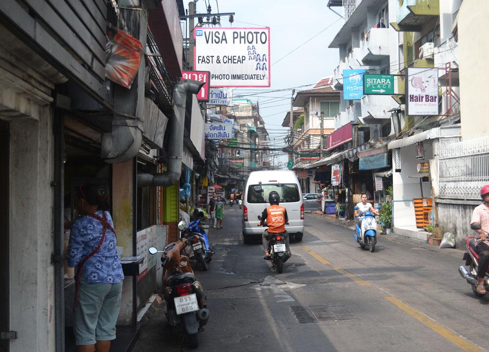 Ratchada Soi 3, Chinese VISA Application in Bangkok, Travel to China