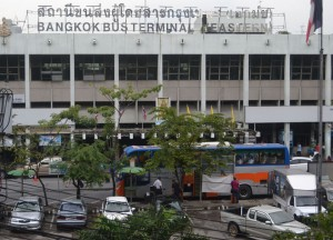 Ekamai Bus Station, Long Distance Travel in Thailand, Bangkok