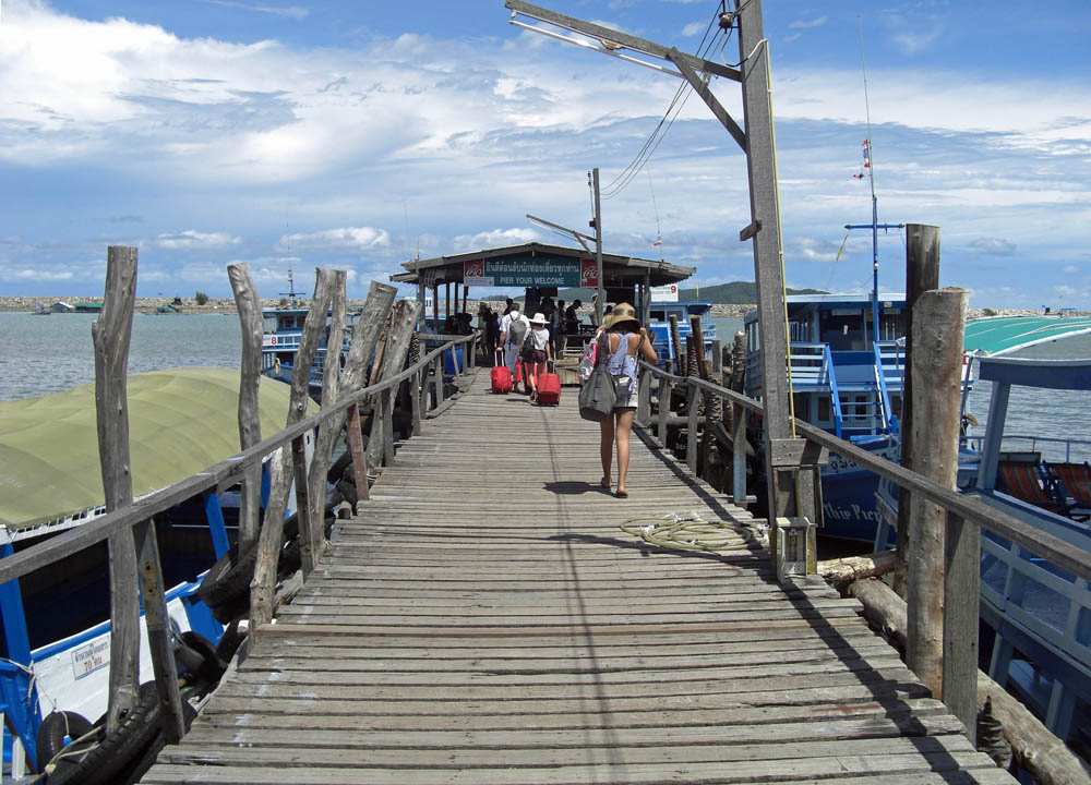Rayong Pier to Samet, Bangkok to Ko Samet via Rayong, Thai Islands, Central Thailand
