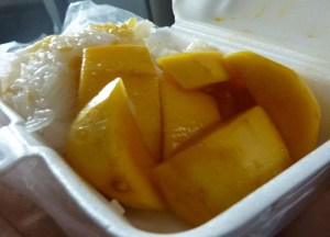 Mango Sticky Rice, Is street food safe in bangkok