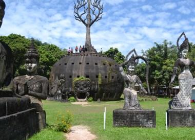 Buddha Park Vientiane, Travel in Isaan Thailand (Northeast Thailand)