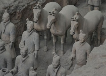 Warriors and Horses, Terracotta Warriors Tour in Xian China