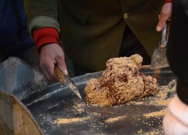 Peanut Crisp Mixture, Eating on Xian Muslim Quarter, Street Food