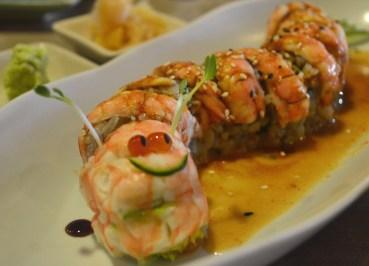 Jackie Wrapped in Ebi (Shrimp), Isao Sushi Restaurant Bangkok, Sukhumvit 31
